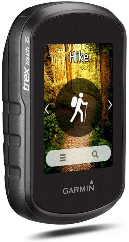 outdoor GPS Handy Garmin 35 etrex touch für Wanderer, Fernradler, Segler und Geo-caching