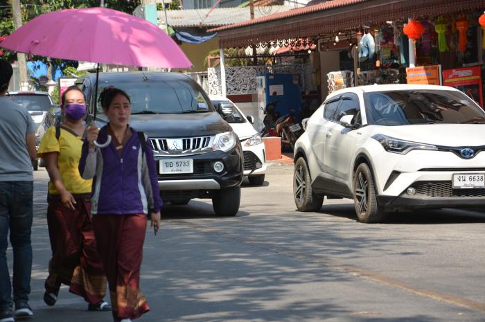 Sonnenschirm in Südostasien