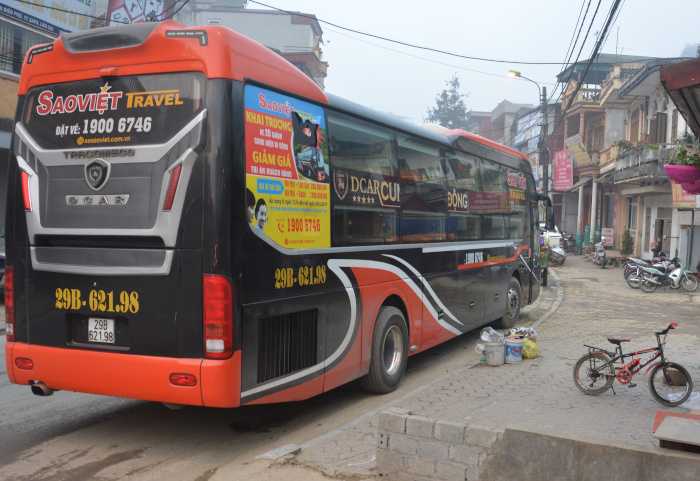 Sleeperbus in Indochina