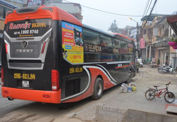 Sleeperbus in Indochina