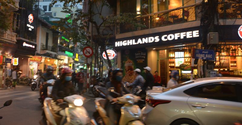 Hanoi Verkehrschaos