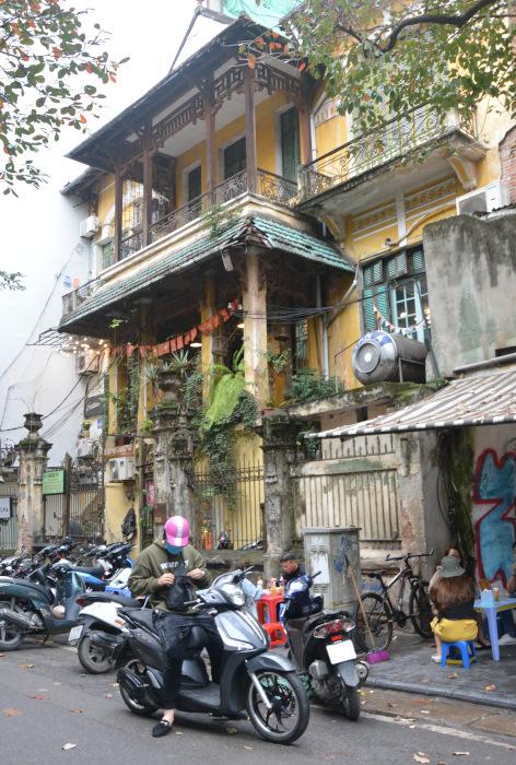 Hanoi Französischer Kolonialbau