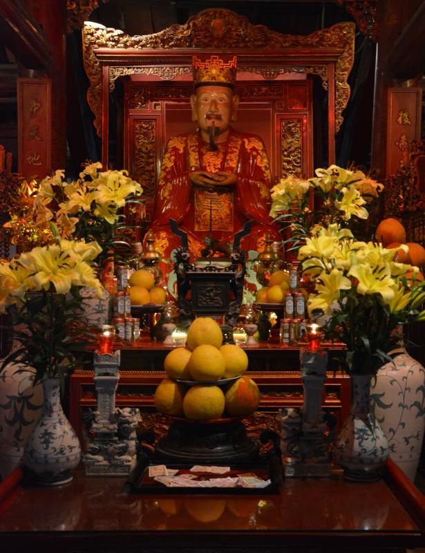 Konfuziusverehrung im Literaturtempel