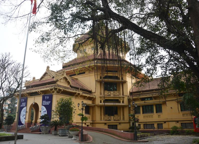 Vietnam Nationalmuseum in Hanoi