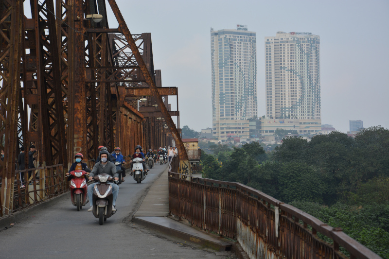 Hanoi Long Bien Brücke