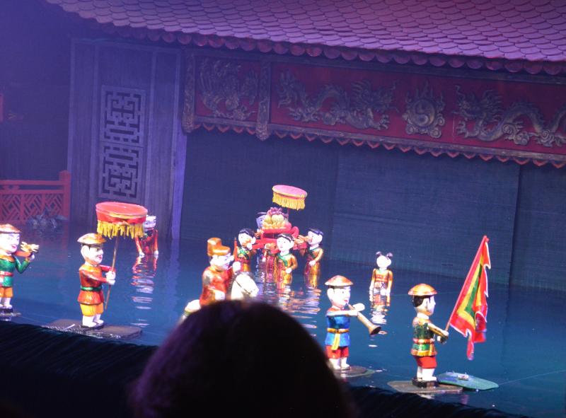 Wasserpuppentheater Vietnam
