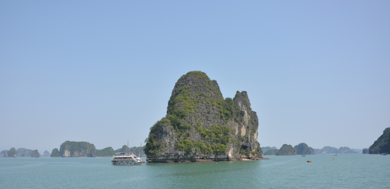 Felsen in der Ha Long Bucht