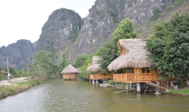 Tam coc - Bamboo Huts
