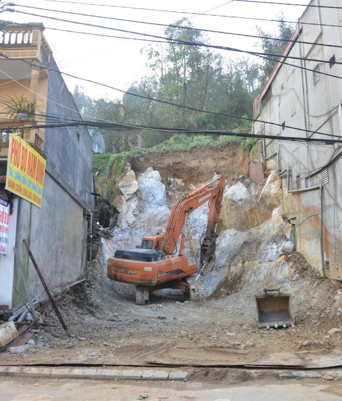 Vietnam - Sa Pa Baustelle