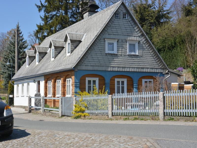 Oberlausitzer Bergweg - Wehrsdorf Umgebindehaus