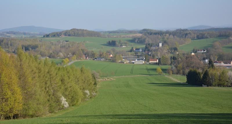 Oberlausitzer Bergland:  Kottmar - Blick