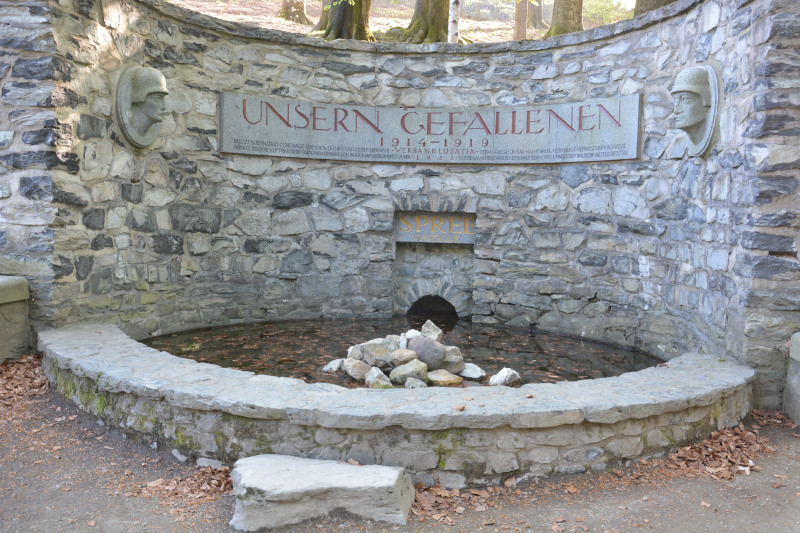 Oberlausitzer Bergland - Kottmar - höchstgelegene Quelle der Spree