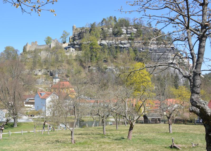 Zittauer Gebirge - Oybin Klosternburg