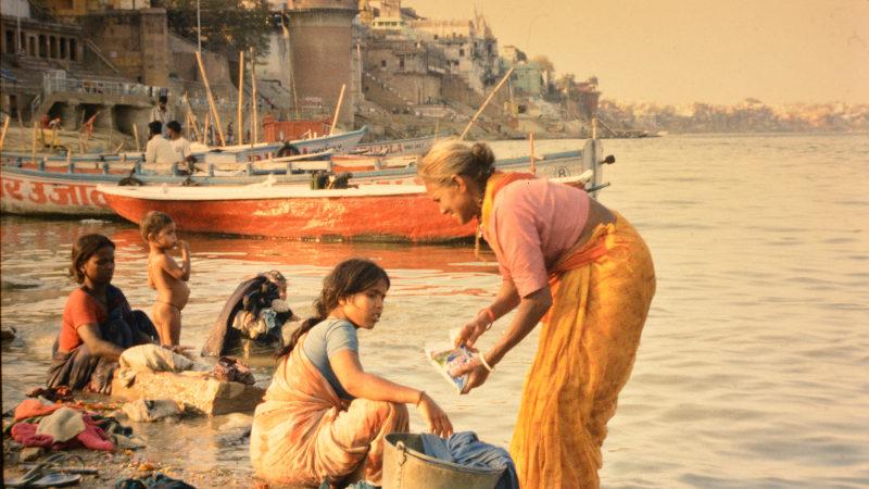 Wäscherinnen Varanasi
