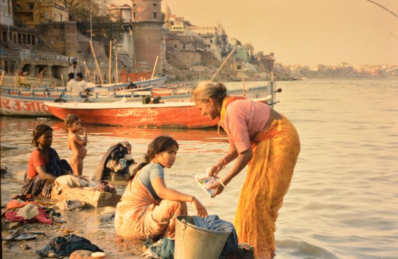 Paß verloren im indischen Varanasi