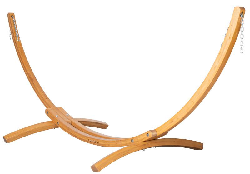 Hängematte mit Holzgestell aufhängen - elipso für Draußen