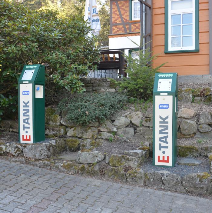 e-Tankstelle Jonsdorf Oberlausitz - Zittauer Gebirge