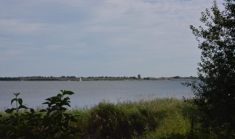 Urlaub Rügen : Ostseeradweg am Strelasund