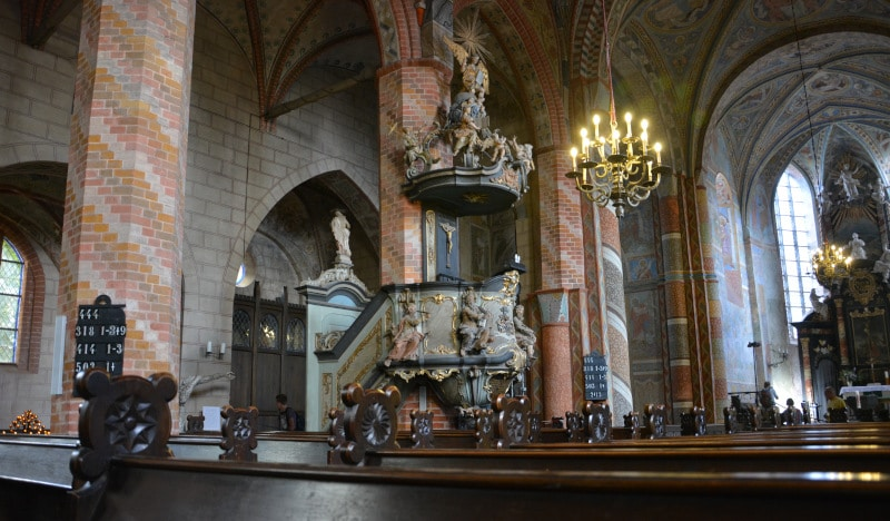 Urlaub Rügen -  Kirchenkanzel Bergen St. Marien Stadtkirche