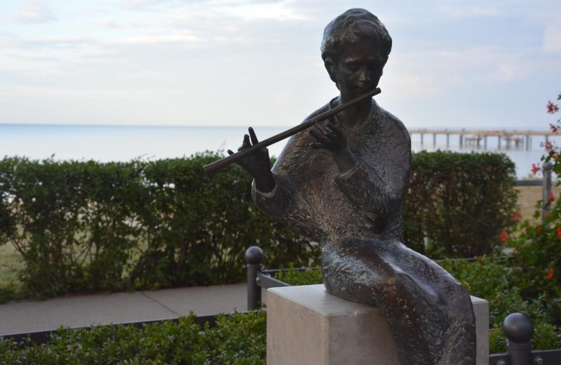 Urlaub Rügen -  Flötenspieler Binz