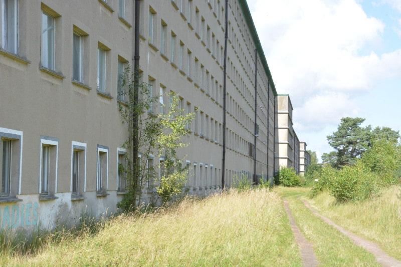 Urlaub Radtour Rügen:  Prora KdF-Bau
