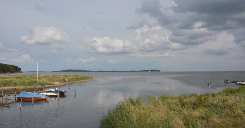 Urlaub Rügen Fahrradtour am Greifswalder Bodden