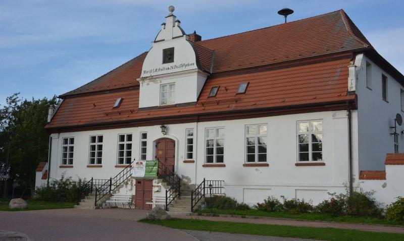 Rügen Ostsee-radtour: Ernst-Moritz-Arndt - Geburtshaus in Groß Schoritz
