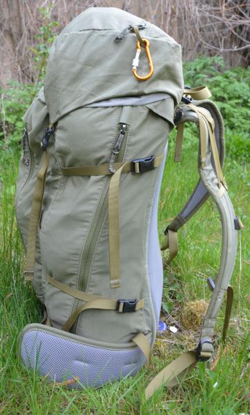 left side Abisko Hiking Backpack