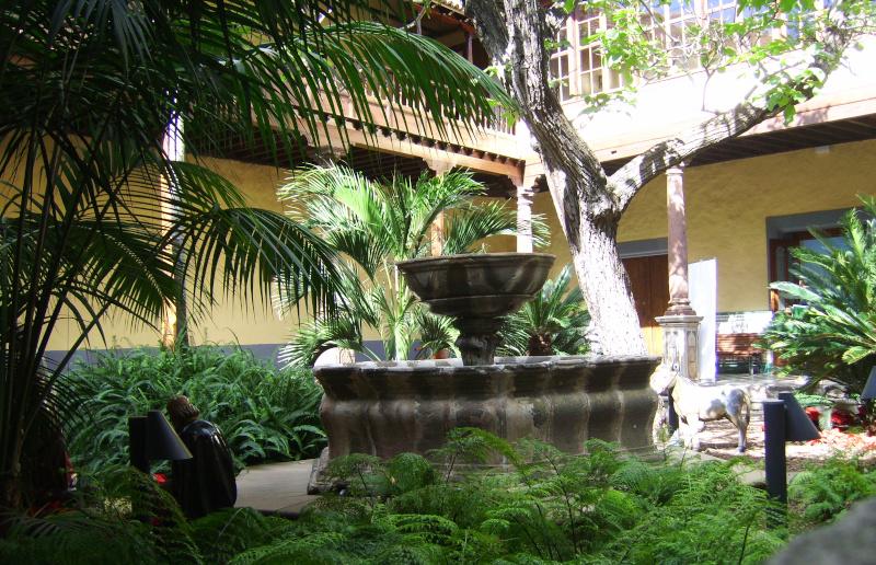 San Christobal de la Laguna - Innenhof in der  Touristeninformation der Weltkulturerbe - Stadt