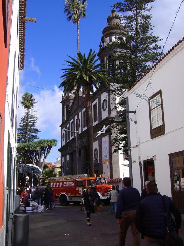 San Cristobal de La Laguna - Kirche im Weltkulturerbe