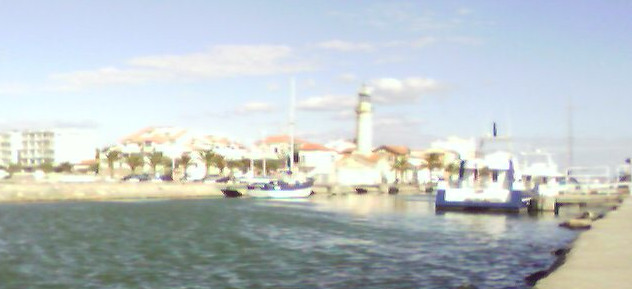 Flußboot in Frankreich