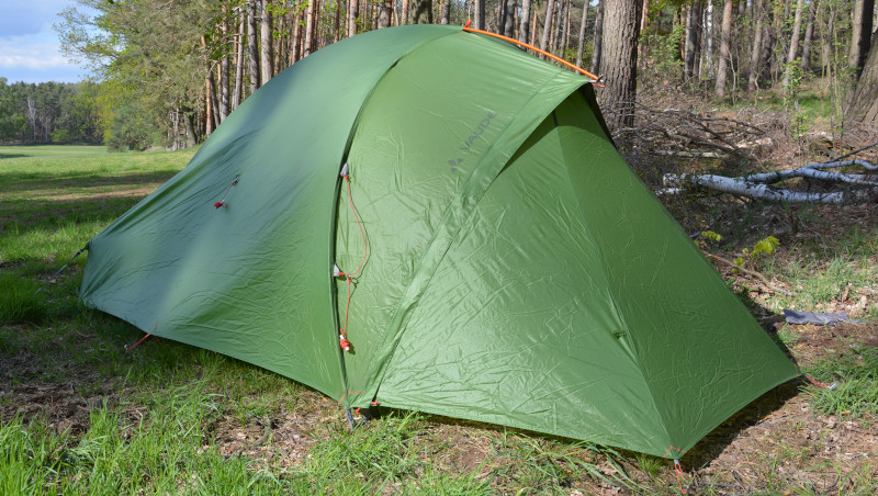 A light tent for hikers and cycling – friends