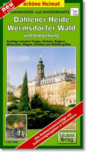 Wanderkarte Dahlener Heide - Schildau, Belgern, Dahlen, Wermsdorf