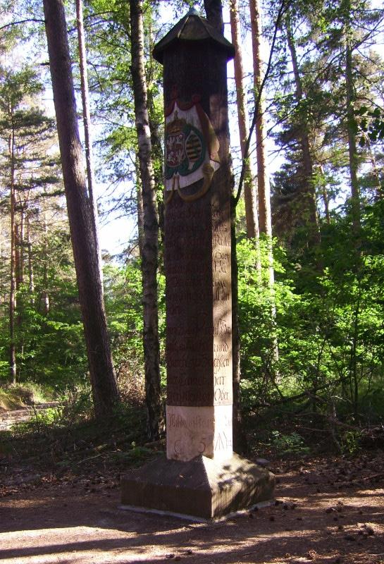 Dahlener Heide Säule zur Jägereiche