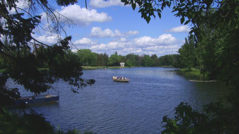 Wörlitzer Park - Gondel
