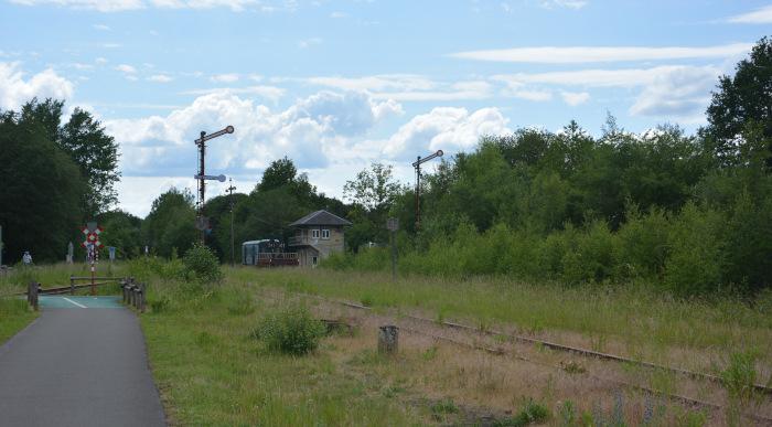 Vennbahn - Radweg Bhf Raeren