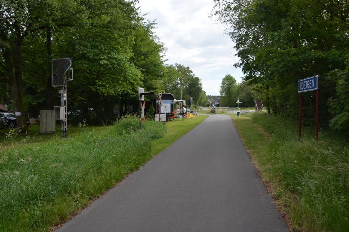 Vennbahn - Radweg Ortspassage