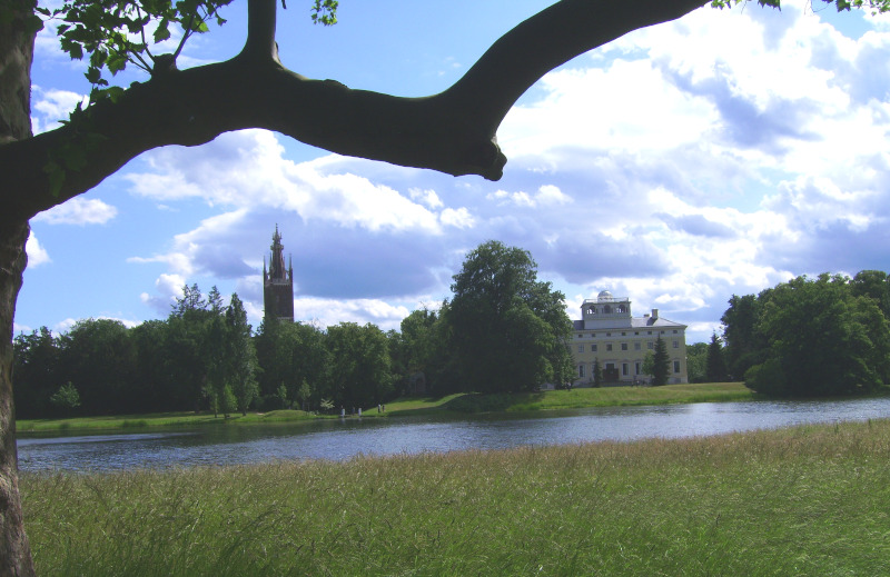 Wörlitz Park - Schloßblick / View to Manor House