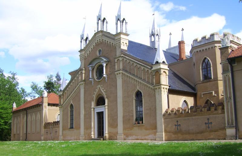 Wörlitzer Park - Gotisches Haus