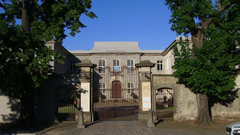 Portal Schloß Dahlen