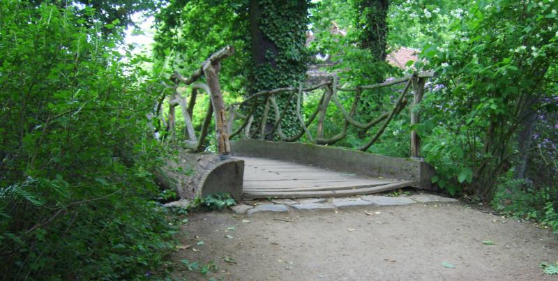 Hornzacken-Brücke Wörlitzer Park