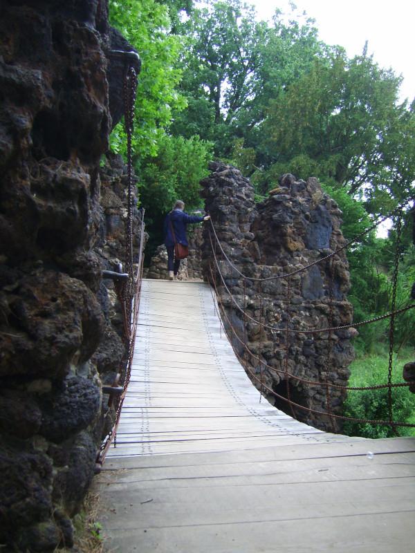 Kettenbrücke Wörllitzer Park