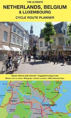 Fahrradkarte Belgien- Luxemburg - Niederlande mit Vennbahnradweg und Querverbindungen