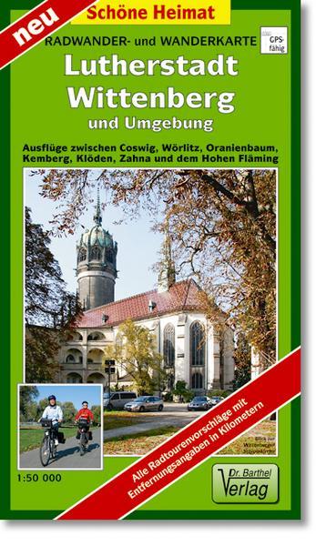 Radkarte Lutherstadt Wittenberg, Wörlitz