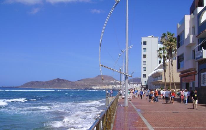 Gran Canaria Strandpromenade Playa de las Canteras - Las Palmas
