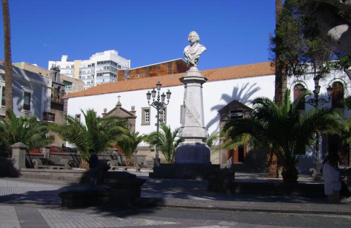 Gran Canaria - Columbus-Säule Las Palmas