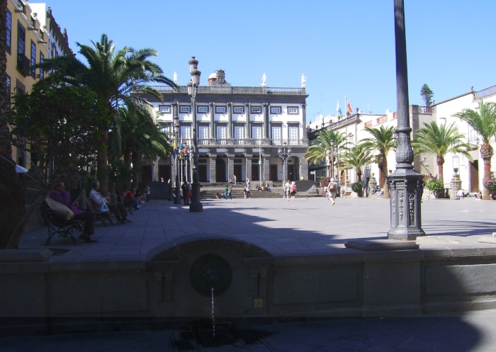 Gran Canaria : Rathaus Las Palmas