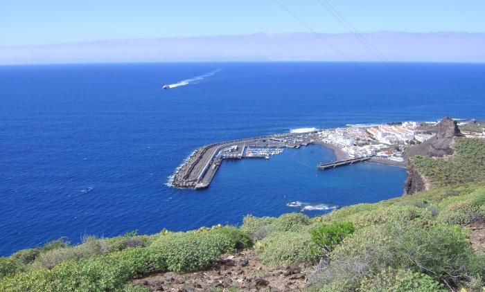 Gran Canaria : Puerto de las Nieves - Fährhafen
