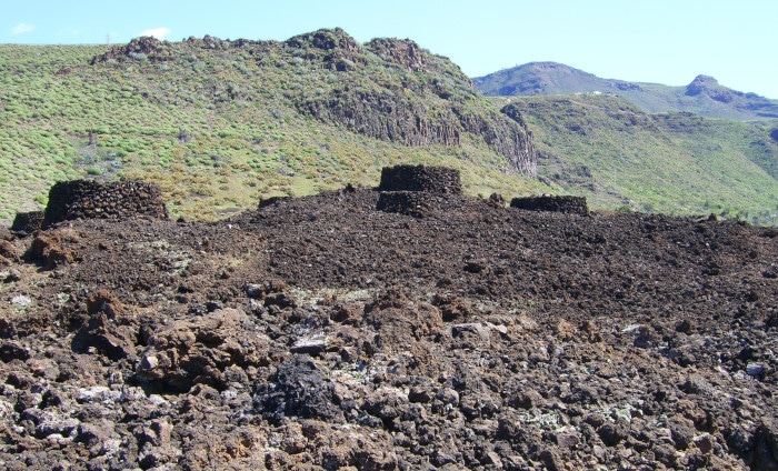 Gran Canaria - Agaete: Maipes  Grab Archäologie