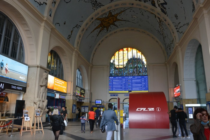 Luxemburg City - Haupt - Bahnhof